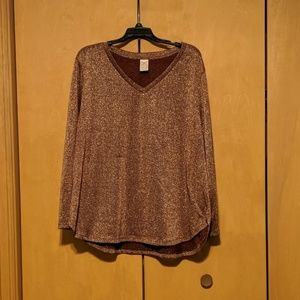 Sparkling long sleeved shirt